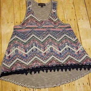 Almost Famous | Tank | Size XL | Multicolored